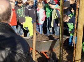 Baumpflanzung des Lions Clubs