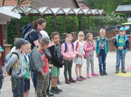 Wandertag der ersten und zweiten Klasse
