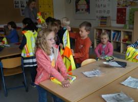 Verkehrssicherheit in Klasse 1